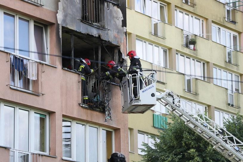 Wybuch w Szczecinie /East News
