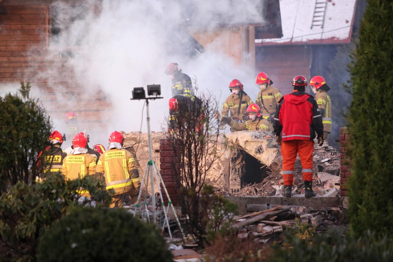 Wybuch w Szczyrku. Spod gruzów wydobyto ciała 8 osób, w tym czworga dzieci