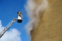 Wybuch w wieżowcu w Szczecinie