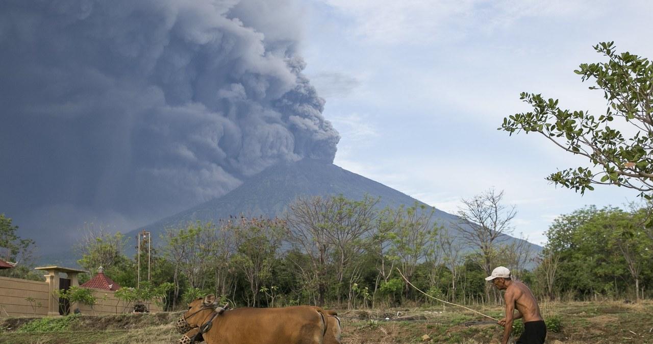 Wybuch wulkanu Agung w Indonezji