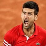 Wybuch złości Novaka Djokovica na korcie. Ciężki mecz Serba z Berrettinim