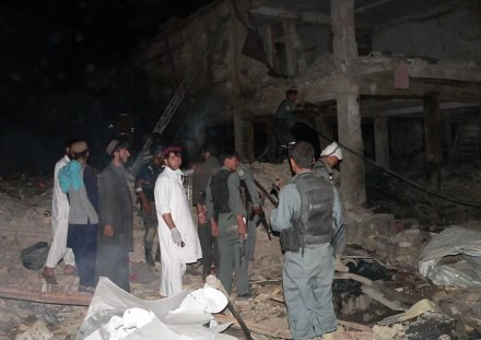 Wybuchy nastąpiły tuż po zmierzchu /AFP
