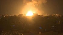 Wybuchy w Strefie Gazy po ataku armii izraelskiej