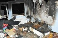Wybuchy w Zielonej Górze - policyjne zdjęcia z wnętrza domów