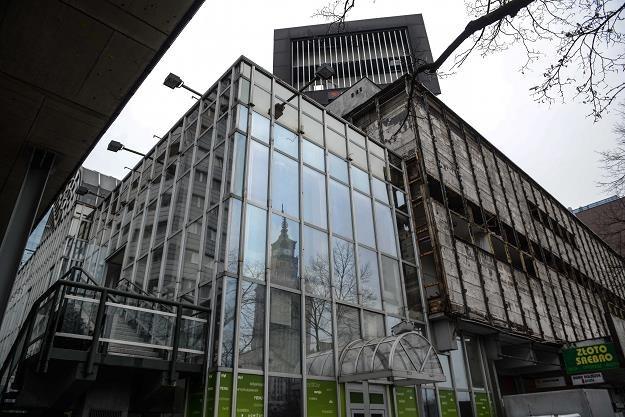 Wyburzanie SDH Sezam w Warszawie /PAP