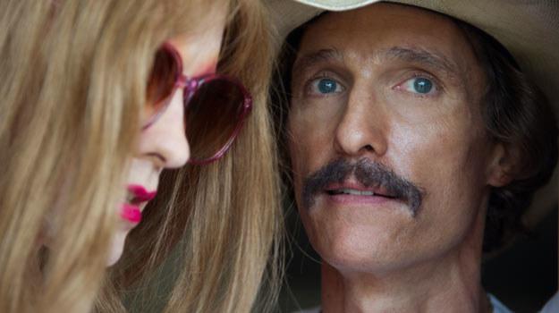 """Wychudzony Matthew McConaughey w filmie """"Witaj w klubie"""" /materiały dystrybutora"""
