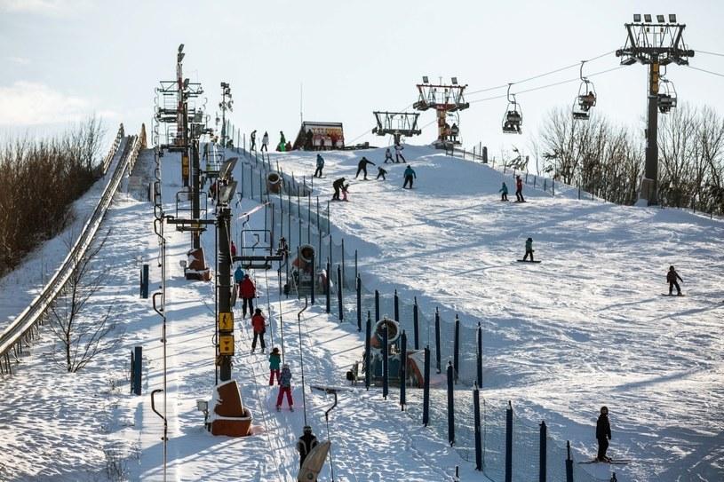 Wyciąg  narciarski na Górce Szczęśliwickiej (źródło: Forum; Grazyna Myslinska) /materiały promocyjne