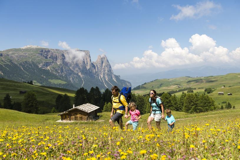 Wycieczka po Alpe di Siusi /materiały prasowe