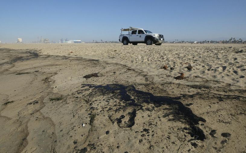 Wyciek ropy u wybrzeży Kalifornii /FR170512 AP/Associated Press /East News