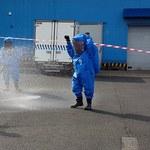 Wyciek toksycznej substancji w głównym terminalu cargo w Warszawie