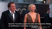 Wyciekł nowy scenariusz filmu Tarantino