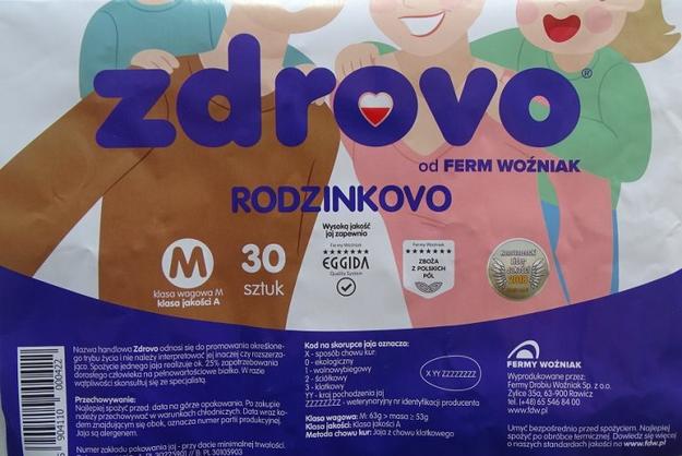 """Wycofane jaja """"zdrovo Rodzinkovo"""" /Główny Inspektorat Sanitarny"""