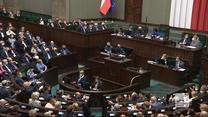 """""""Wydarzenia"""": Falstart PiS. Posłowie po powrocie do Sejmu pomylili się w trakcie głosowania"""
