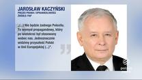 """""""Wydarzenia"""": """"Nie będzie żadnego polexitu. To wymysł propagandowy"""". Prezes PiS Jarosław Kaczyński udzielił dosadnego wywiadu"""