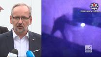 """""""Wydarzenia"""": Podpalenie mobilnego punktu szczepień w Zamościu. Minister zapowiada nagrodę za wskazanie sprawcy"""
