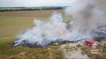 """""""Wydarzenia"""": Pożar śmieci na Dolnym Śląsku"""