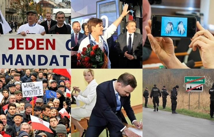 Wydarzenia roku 2015 /INTERIA.PL
