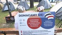 """""""Wydarzenia"""": Trwa protest medyków. Rozmowy w Centrum Dialogu Społecznego bez udziału protestujących"""