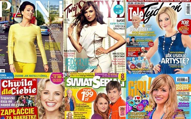 Wydawnictwo Bauer jest największym w Polsce wydawcą czasopism /INTERIA.PL