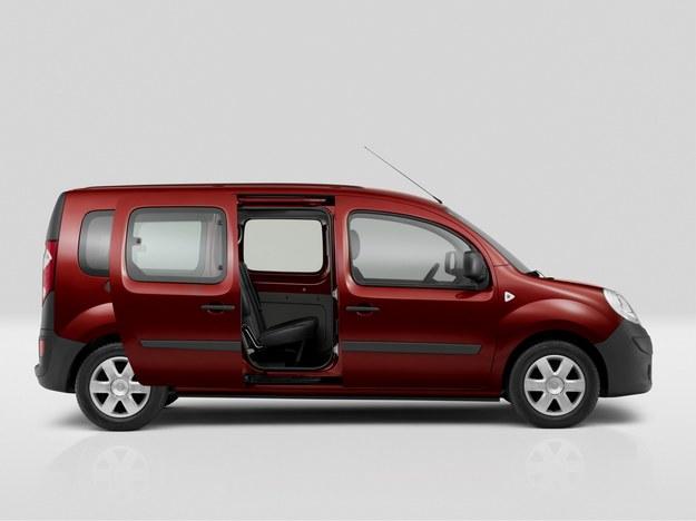 Wydłużona wersja dostawcza występuje jako Maxi, a osobowa (na zdjęciu) jako Grand. /Renault