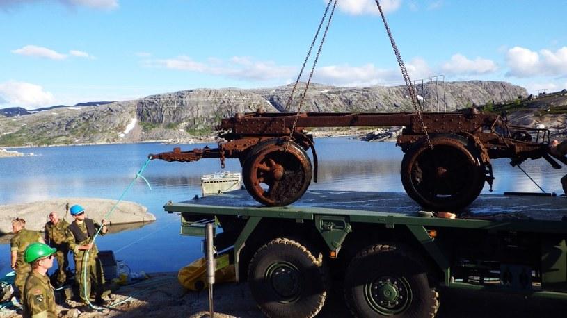 Wydobycie lawet Skoda, Norwegia fot. Ambasada RP w Norwegii /INTERIA.PL