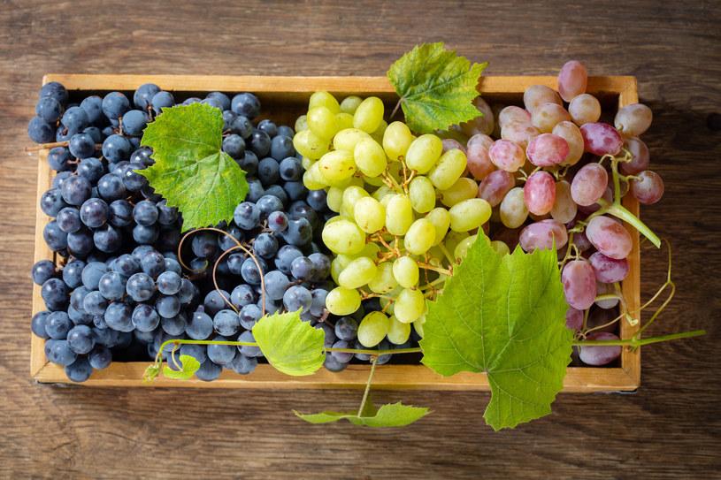 Wyeliminuj z diety słodkie winogrona /123RF/PICSEL