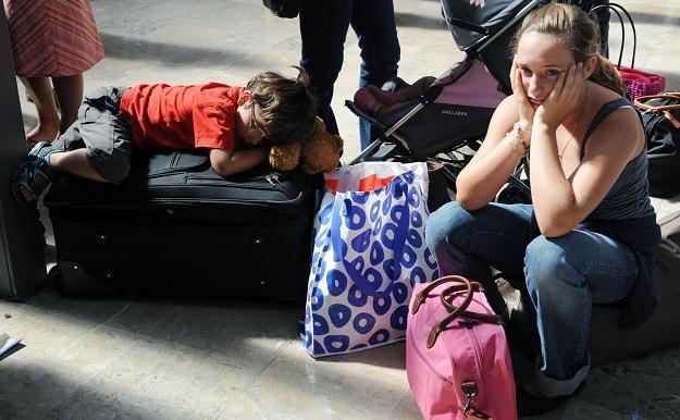 Wyemigrowało już 300 tys. polskich dzieci do 14 lat /AFP