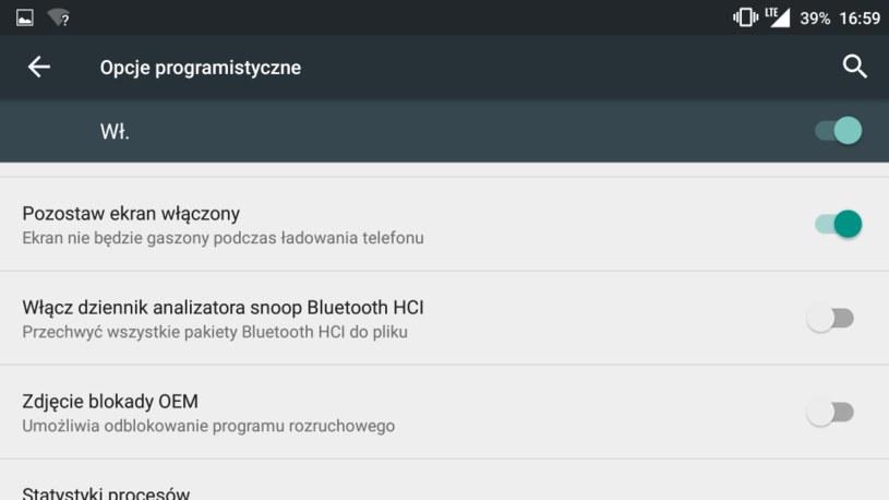 Wygaszanie ekranu /android.com.pl