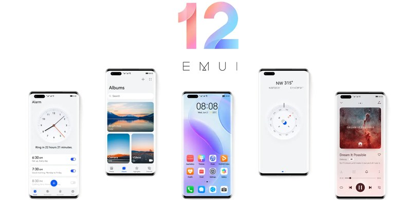 Wygląd EMUI 12 Fot. Huawei /materiał zewnętrzny