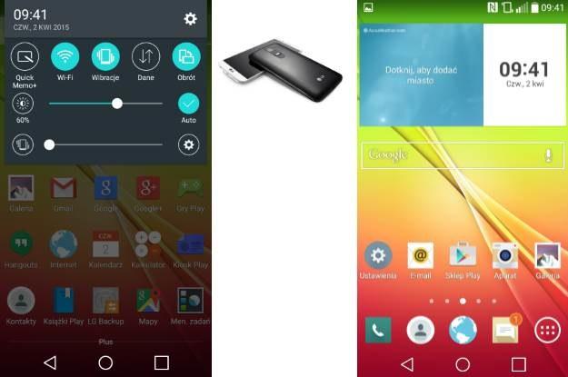 Wygląd menu LG G2 po aktualizacji do nowego Androida /android.com.pl