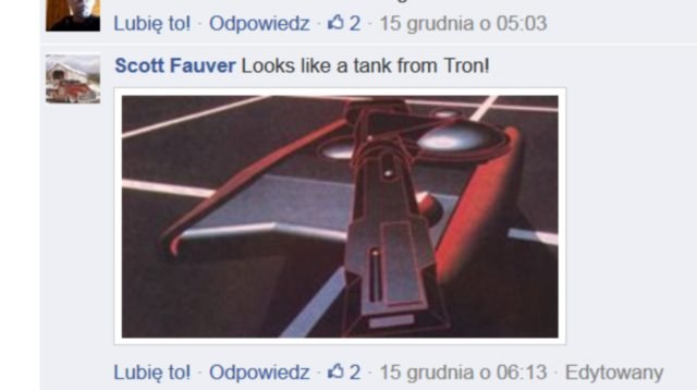 """Wygląda jak czołg z Tronu!"" /Facebook /INTERIA.PL"