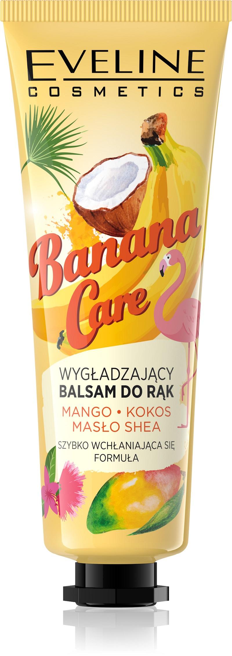Wygładzający balsam do rąk Banana Care Eveline Cosmetics /INTERIA/materiały prasowe
