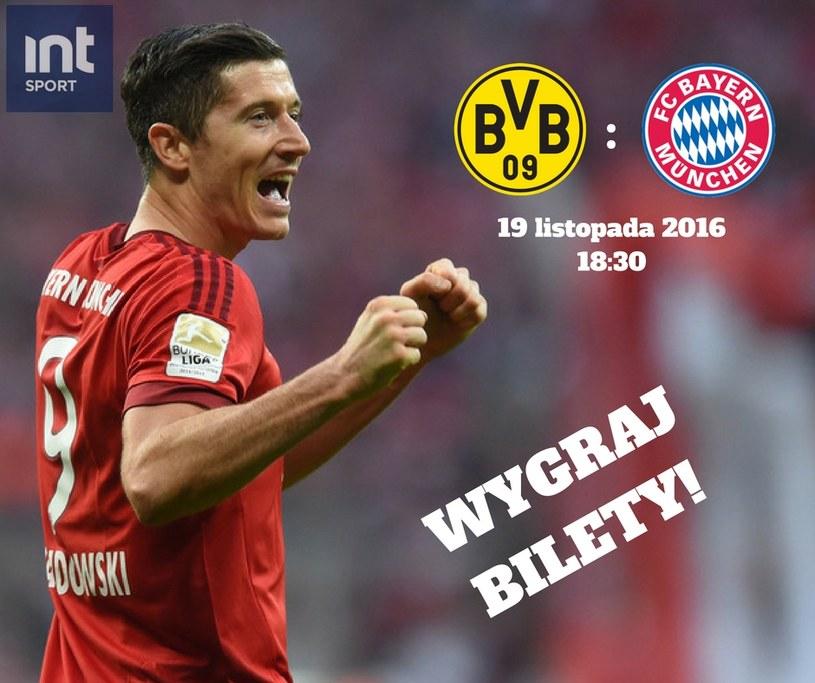 Wygraj bilety na mecz Borussia - Bayern /INTERIA.PL