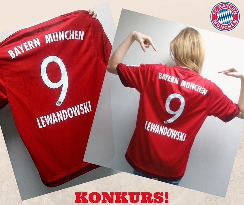 Wygraj koszulkę Roberta Lewandowskiego /INTERIA.PL