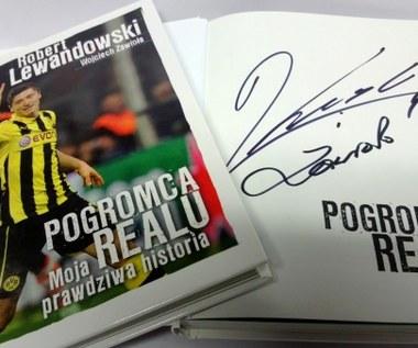 Wygraj książkę z autografem Roberta Lewandowskiego