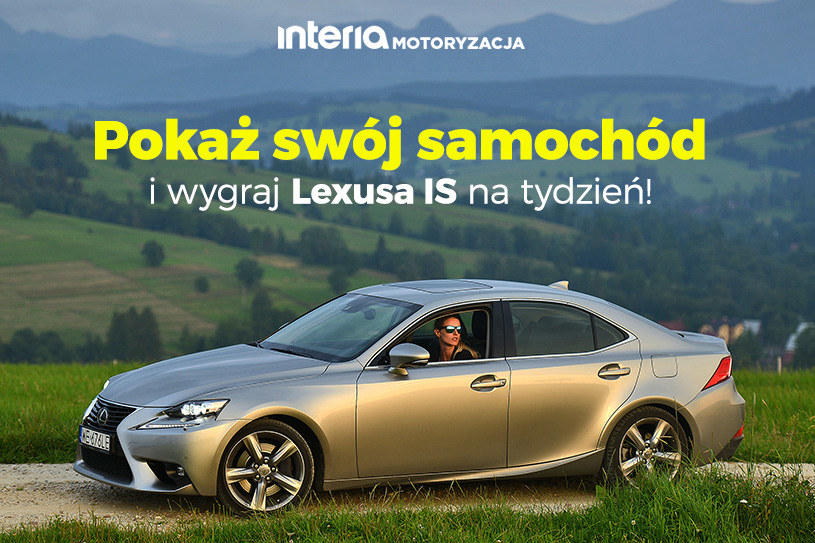 Wygraj Lexusa IS na wyjazd /INTERIA.PL