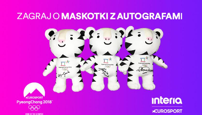 Wygraj olimpijskie maskotki z autografami polskich sportowców!