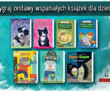 Wygraj zestaw książek dla dzieci Wydawnictwa Wilga