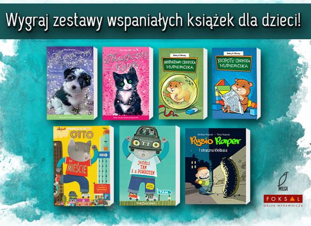 Wygraj zestaw wspaniałych książek dla swojego dziecka! /INTERIA.PL