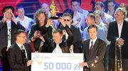 Wygrał 50 tysięcy złotych!