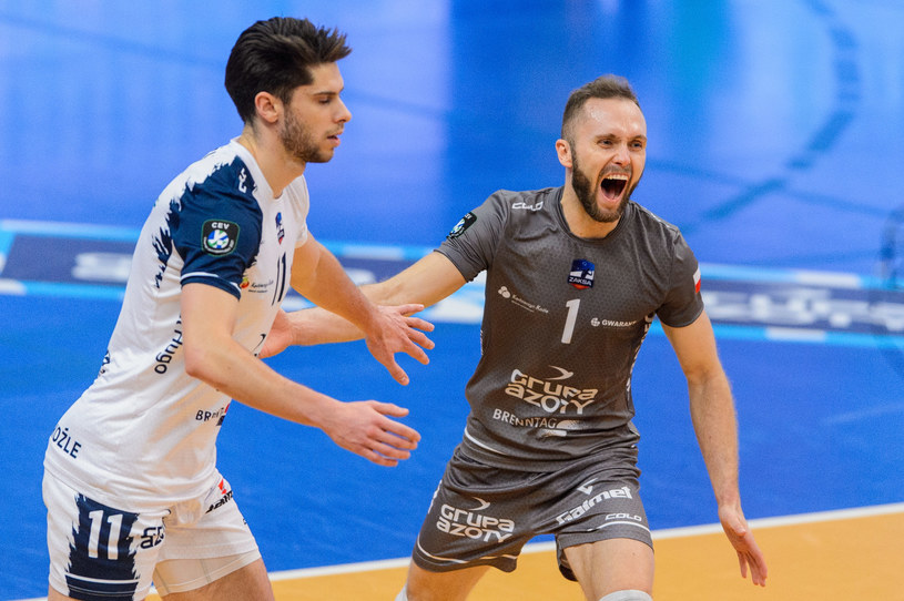 Wygrana we Włoszech to dla kędzierzynian duży krok w kierunku półfinału Ligi Mistrzów /Mariusz Palczynski / MPAimages.com / NEWSPIX.PL /Newspix