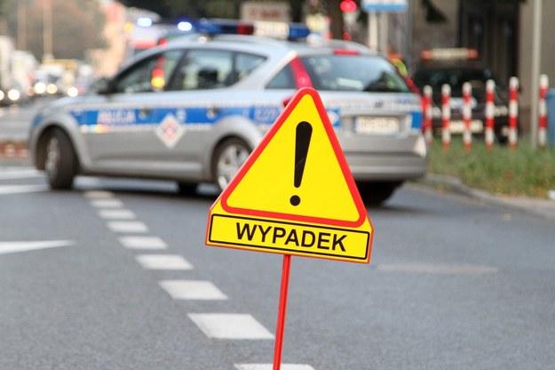 Wyjaśniają okoliczności wypadku /Piotr Jędzura /Reporter