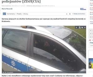 Wyjaśniamy, dlaczego policjanci spali na służbie