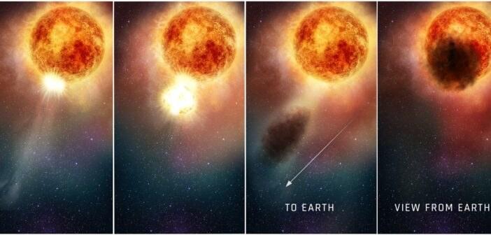 Wyjaśnienie spadku jasności Betelgezy w 2020 r. /NASA