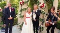 Wyjątkowa niespodzianka ślubna! Zaśpiewał Rod Stewart