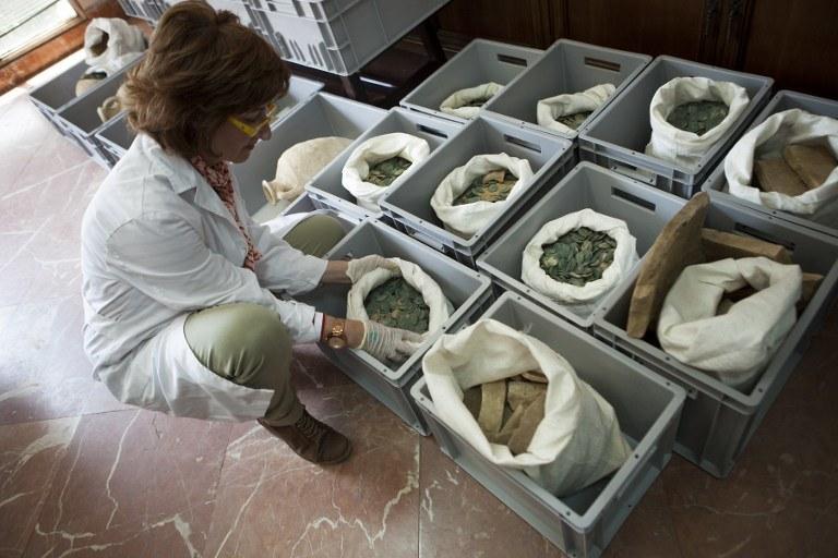 Wyjątkowe znalezisko pod Sewillą /AFP