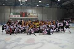 Wyjątkowy mecz hokeja w Nowym Targu