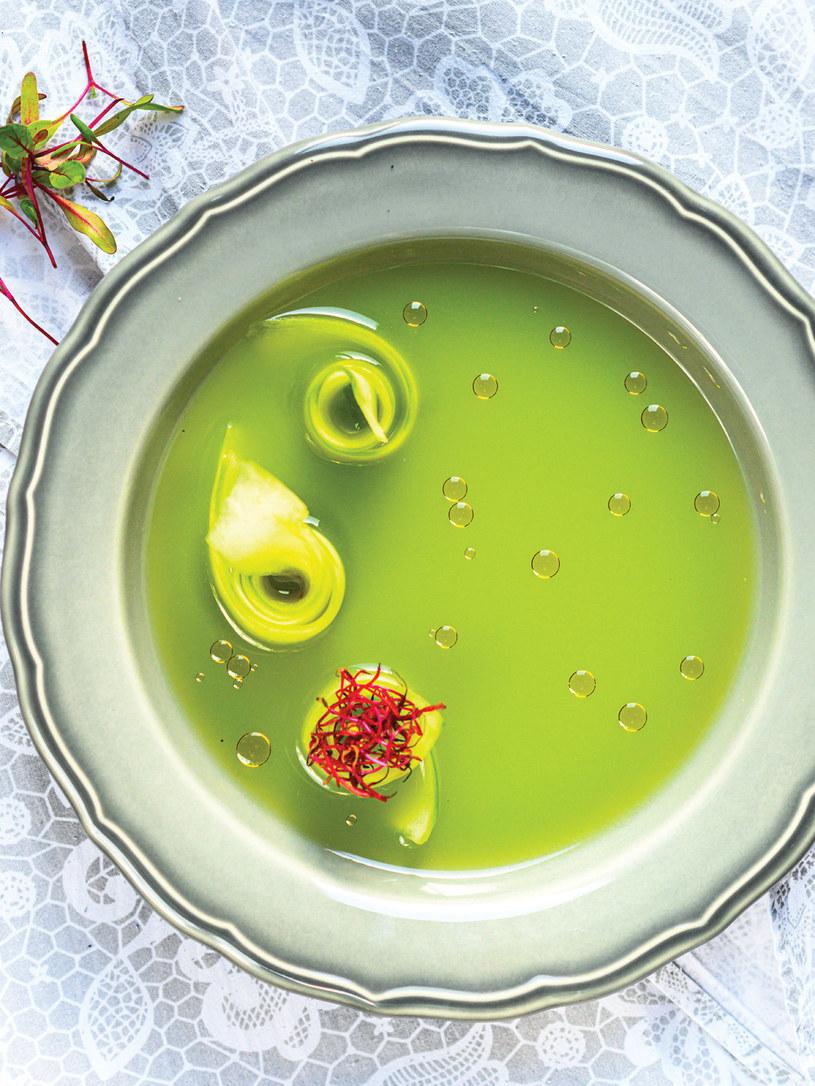 Wyjątkowy przepis na aromatyczną zupę z tagliatelle z ogórków /materiały prasowe