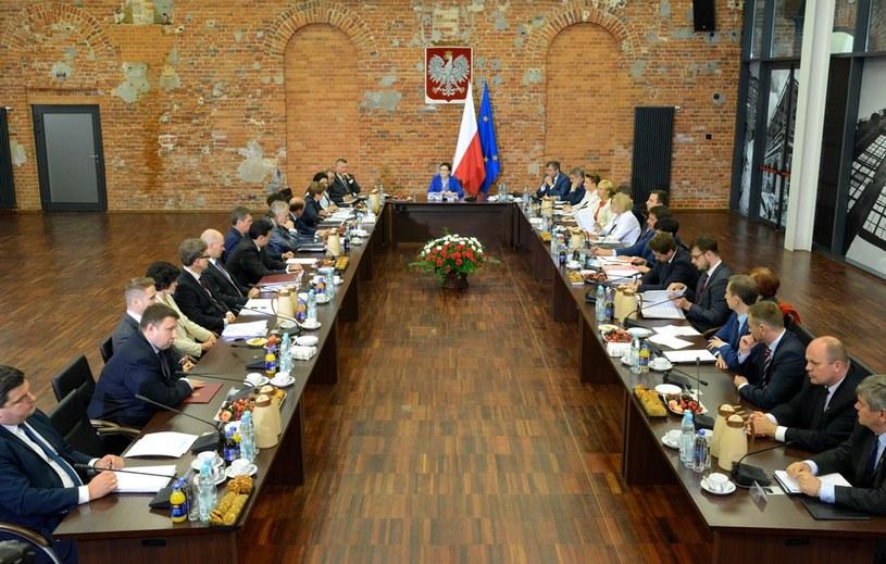 Wyjazdowe posiedzenie rządu /Piotr Kamionka /Reporter