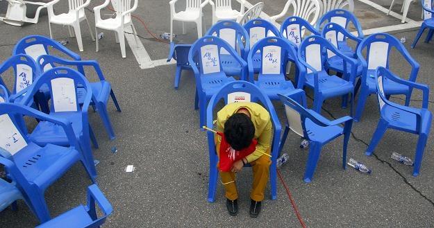 Wyjazdy zarobkowe na Wyspy stracą na popularności ? /AFP